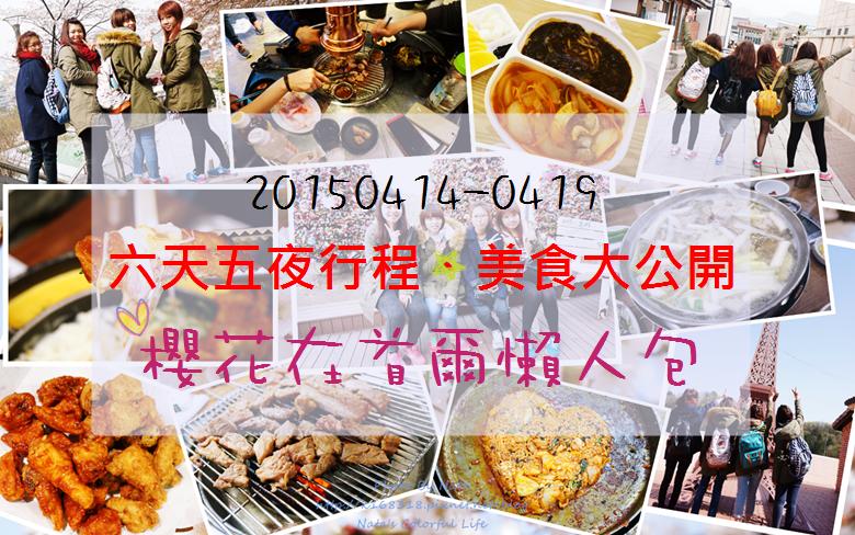 【旅遊✈KOREA】2015櫻在首爾*六天五夜行程、美食大公開