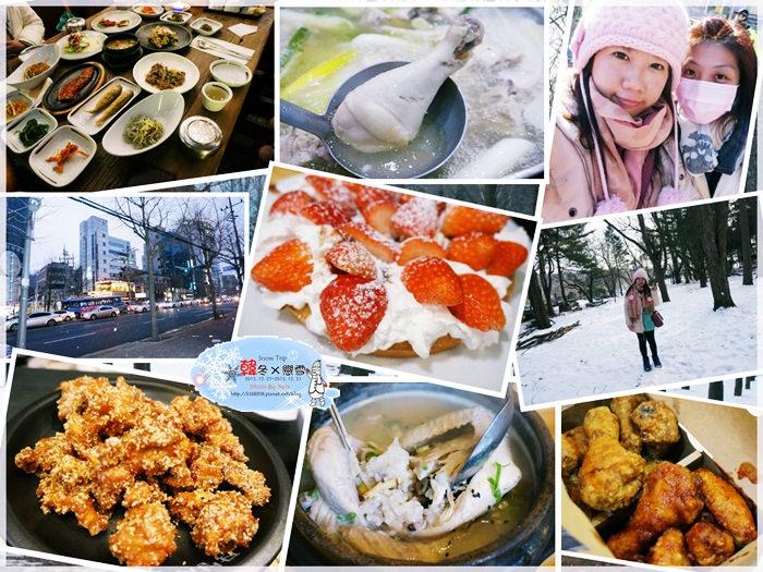 【旅行✈KOREA】2013韓冬戀雪×首爾Snow Trip*五天四夜行程、戰利品大公開!