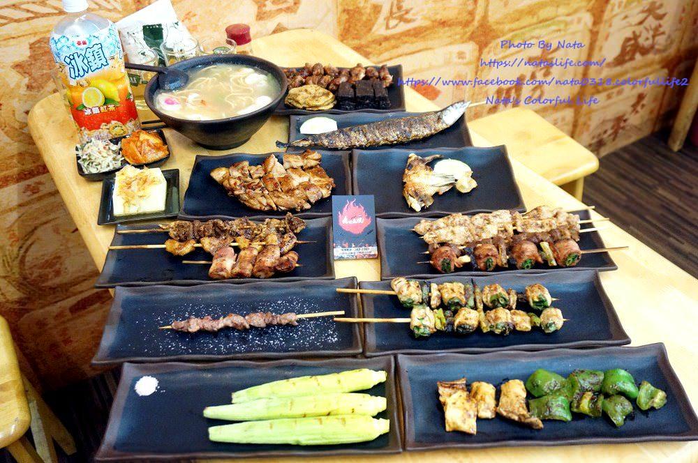 【美食♔台南永康區燒烤】獨領瘋燒。「消夜好所在」晚上想吃點小東西、就來吃串燒吧